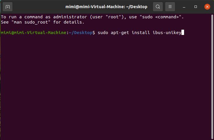 Unikey cho Ubuntu
